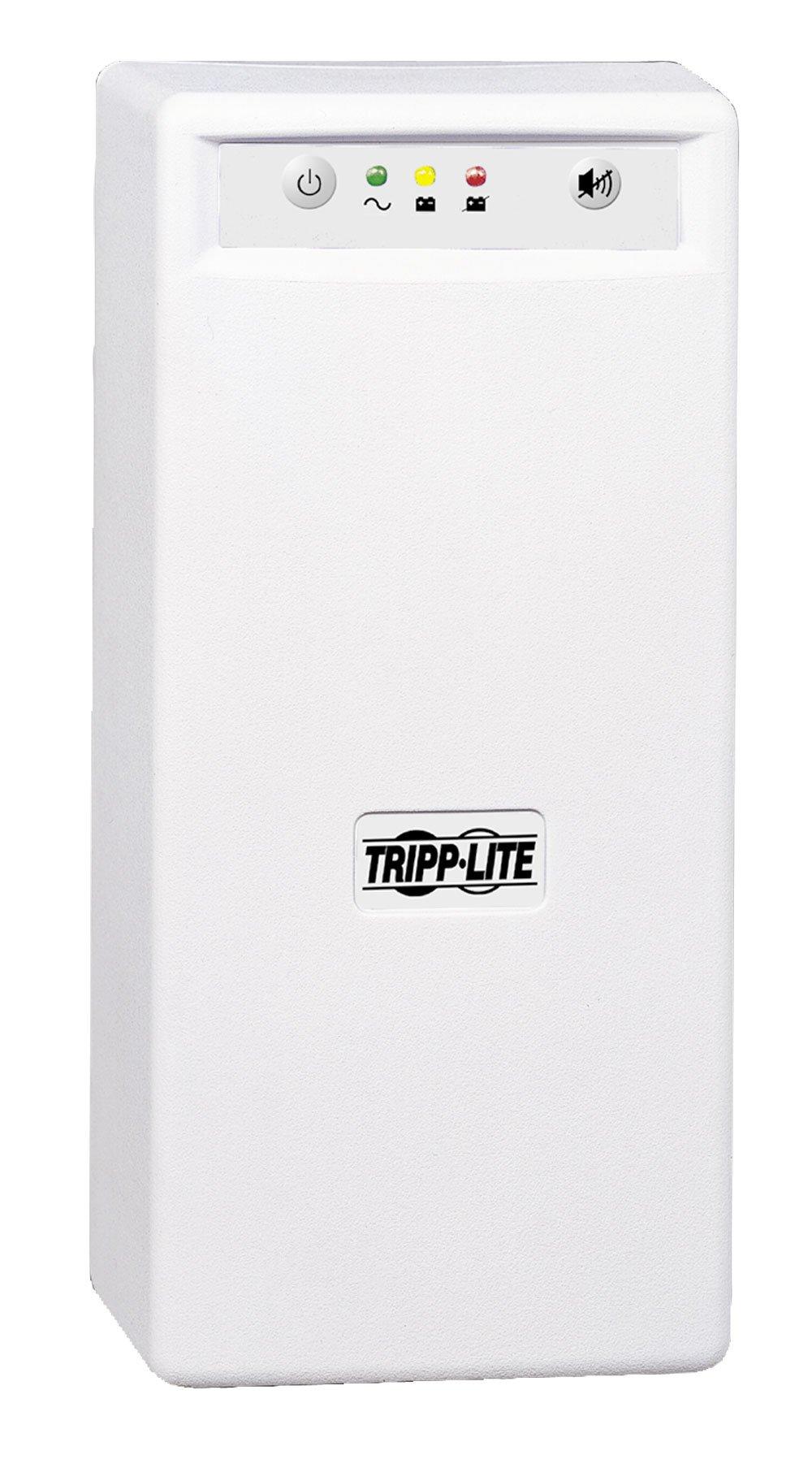 Tripp Lite INTERNETOFFICE700 700VA 425W UPS Desktop Battery Back Up Tower 120V USB RJ45 PC, 6 Outlets