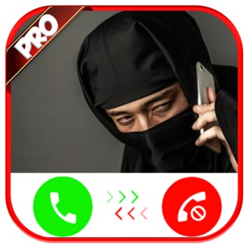 Amazon.com: Incoming Voice Call From Ninja - Free Fake Phone ...