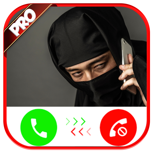 Incoming Voice Call From Ninja - Free Fake Phone Calls ID ...