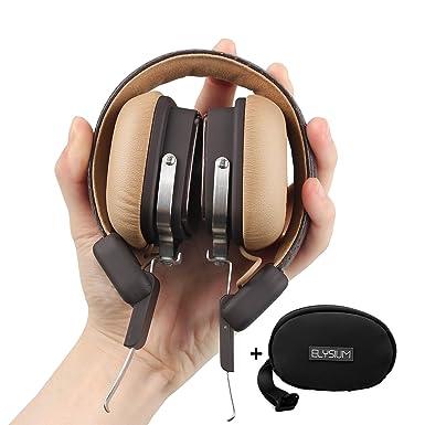 oneodio, ohraufliegende Auriculares Bluetooth Inalámbricos para deportes, llamadas, Viajes & Running, recargable