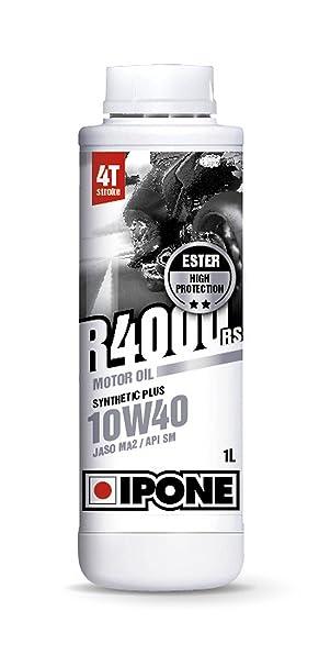 Ipone S28145 4T R4000 RS Aceite de Motor Semisintético 10W40 - Bidón: Amazon.es: Coche y moto
