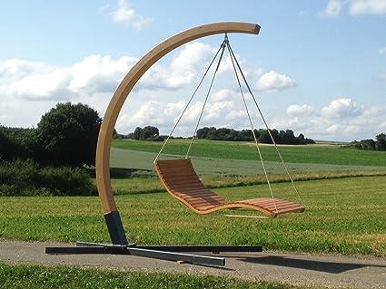 Amazonde Aufhängebogen Mit Stahlfuß Für Hängeliege Aus Holz Für