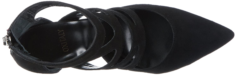 Oxitaly (Nero) Damen Sissi 12 Pumps Schwarz (Nero) Oxitaly 1736f5