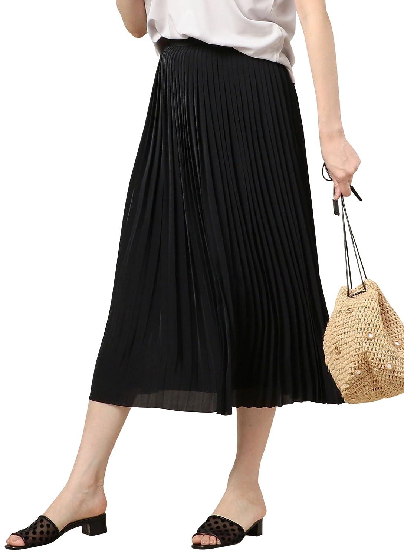 (ビューティ&ユース ユナイテッドアローズ) BY デシンプリーツスカート 16242993282 B07D8G3X1Z  BLACK(09) Medium