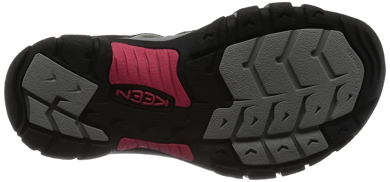 KEEN Women's Newport H2 Sandal B01H763NFS 7.5 B(M) US|Black/Bright Rose