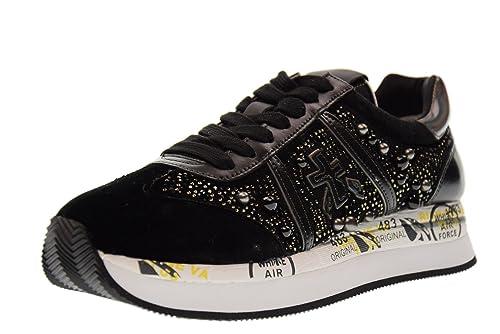 Sneakers Conny 1621 Donna Scarpe Basse it Amazon Premiata Nero 6nCTxp