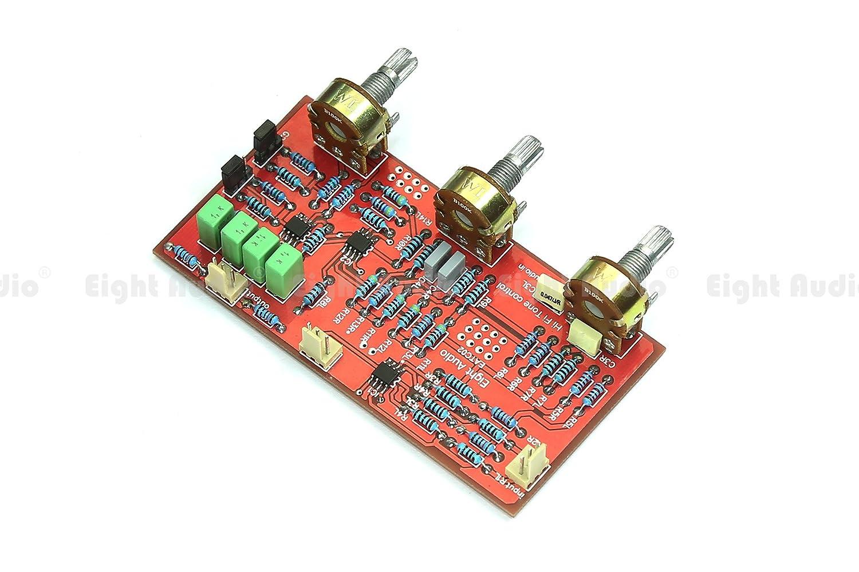 Hi Fi Two Band Tone Control 2 Eq Kit With Volume Passive 2band Baxandall Circuit Car Motorbike