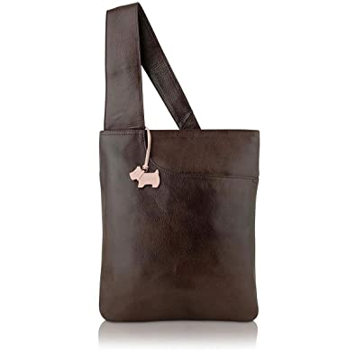 af4810af2362 Radley Handbag Pocket Bag. Medium Cross Body Bag 90102 Brown  Amazon.co.uk   Shoes   Bags