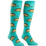 Sock It To Me Women's Tacosaurus Knee High Socks (Style no# F0254)
