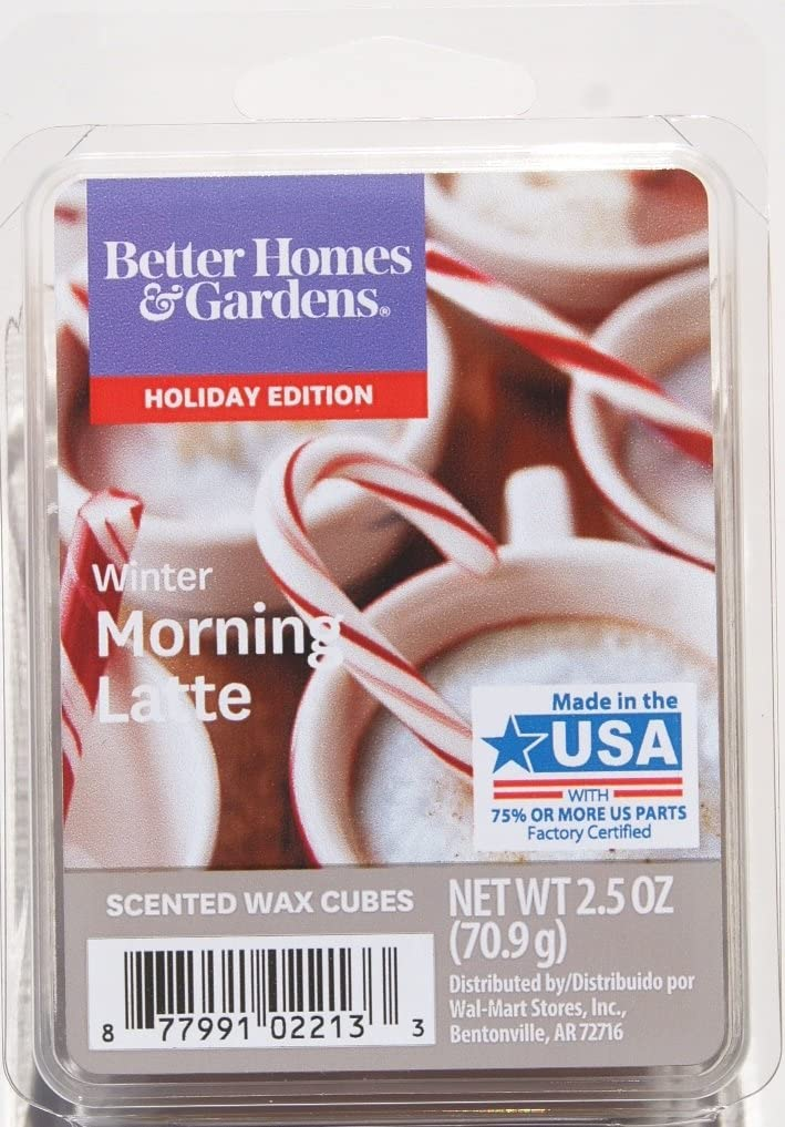 Better Homes and Gardens Winter Morning Latte Wax Cubes