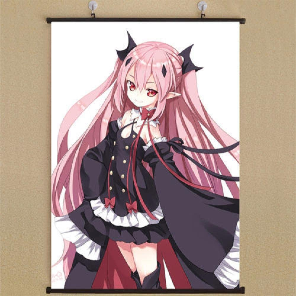 Amazon Com Cartoon World Seraph Of The End Krul Tepes Home Decor Anime Japanese Poster Wall Scroll Posters Prints See over 282 krul tepes images on danbooru. decor anime japanese poster wall scroll