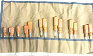 product image for UJ Ramelson Co Original Gun Care Screwdriver Set Grace USA HG-8 & HG-5 Browning Gunsmithing Screwdrivers Gun Repair Kit - Includes Canvas 13 Pocket Tool Roll - Made in The USA