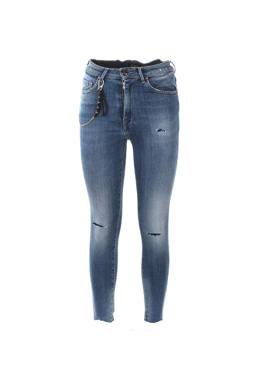 0/ZERO CONSTRUCTION Jeans Donna 28 Denim Doroty/s Ssw540 Autunno Inverno 2018/19