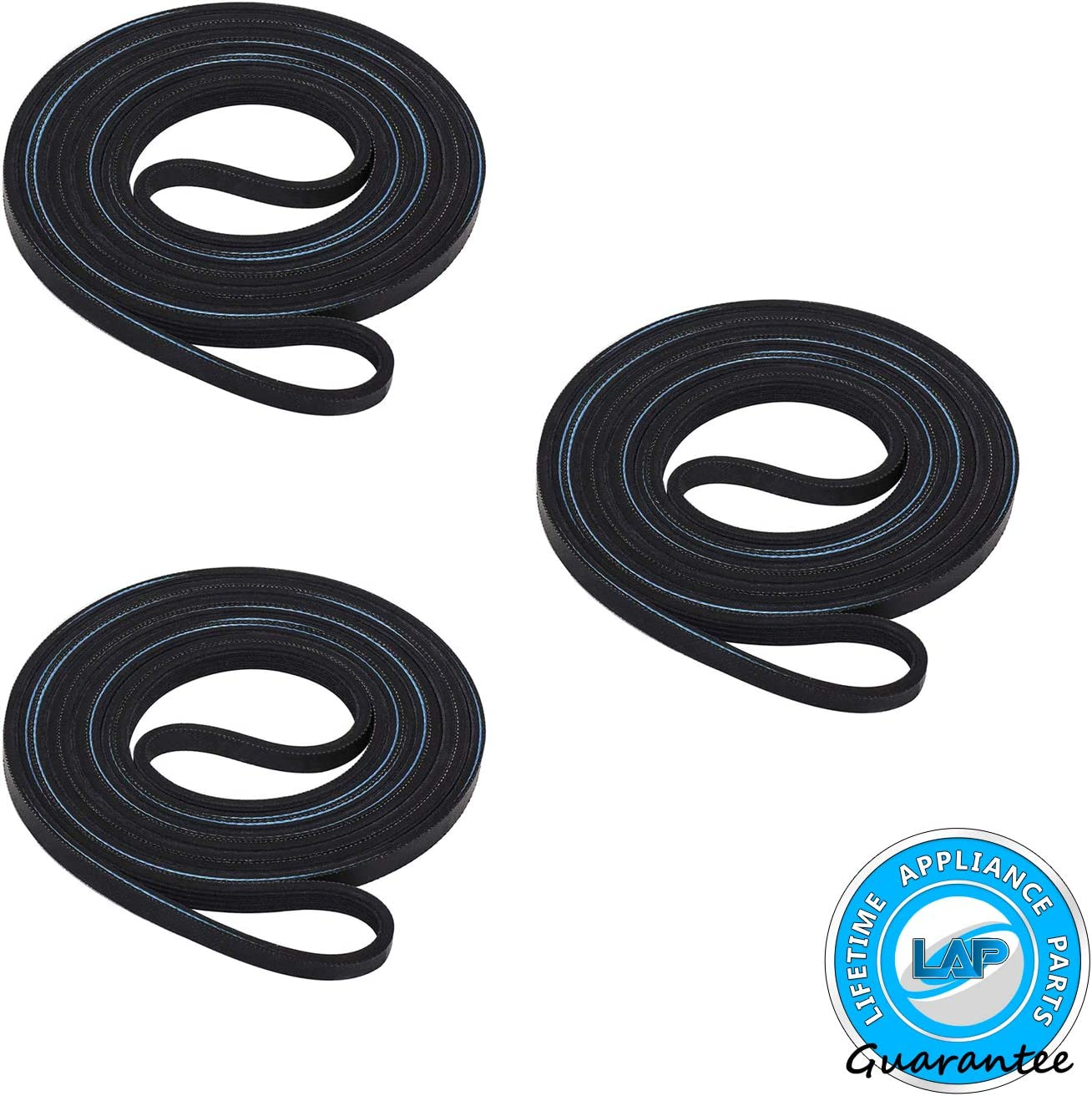 Supplying Demand 341241 691366 Dryer Belt /& Pulley Kit Fits AP2946843 W10131364
