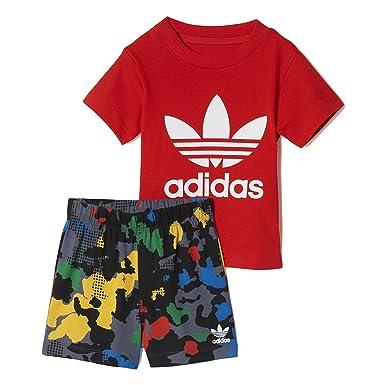 Adidas Originals Infant Baby Boy Shorts T Shirt Set 6 9 Months