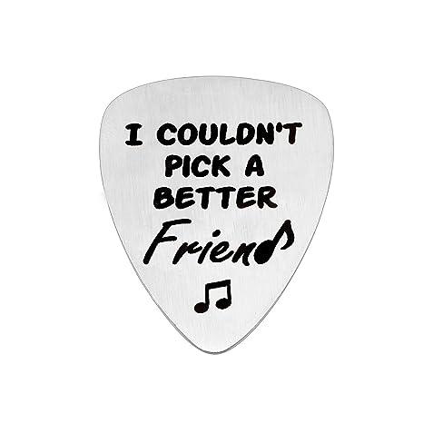 KENYG Joyería de la amistad, no pude elegir un mejor amigo, púa de ...