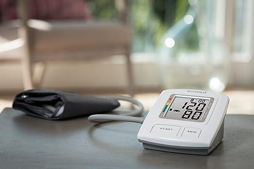 Ecomed BU-92E - Tensiómetro para antebrazo, color blanco y gris: Amazon.es: Salud y cuidado personal