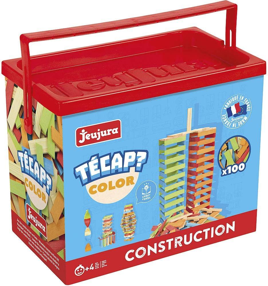Jeujura 8336 Jeu de Construction Tecap Color 100 Pièces