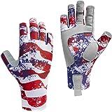 Bassdash ALTIMATE Sun Protection Fingerless Hunting Fishing Gloves UPF 50+ Men's Women's UV Gloves for Kayaking Paddling…