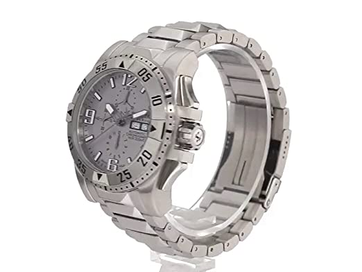 Amazon.com: Invicta Mens 0984 Reserve Automatic Chronograph Grey Dial Stainless Steel Watch: Invicta: Watches