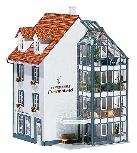 Faller - Edificio de negocios y oficinas de modelismo ferroviario H0 escala 1:48 (