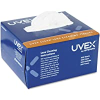 500-Sheet Honeywell Uvex Clear Lens Cleaning Tissues