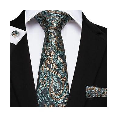 Pragmaticv Conjuntos de gemelos de corbata Corbatas de seda de los ...
