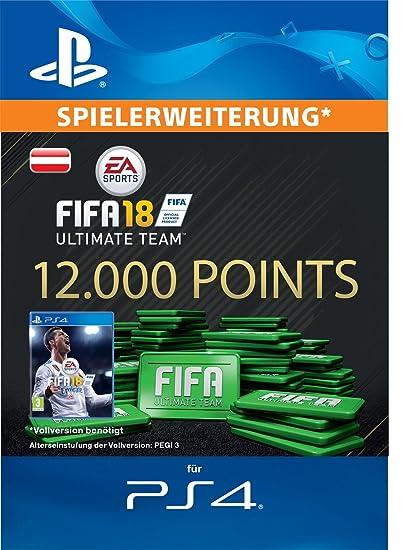 FIFA 18 Ultimate Team - 12000 FIFA Points | PS4 Download Code - österreichisches Konto
