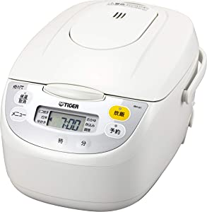 Tiger microcomputer rice cooker (1 bushel cook) White TIGER JBH-G181-W