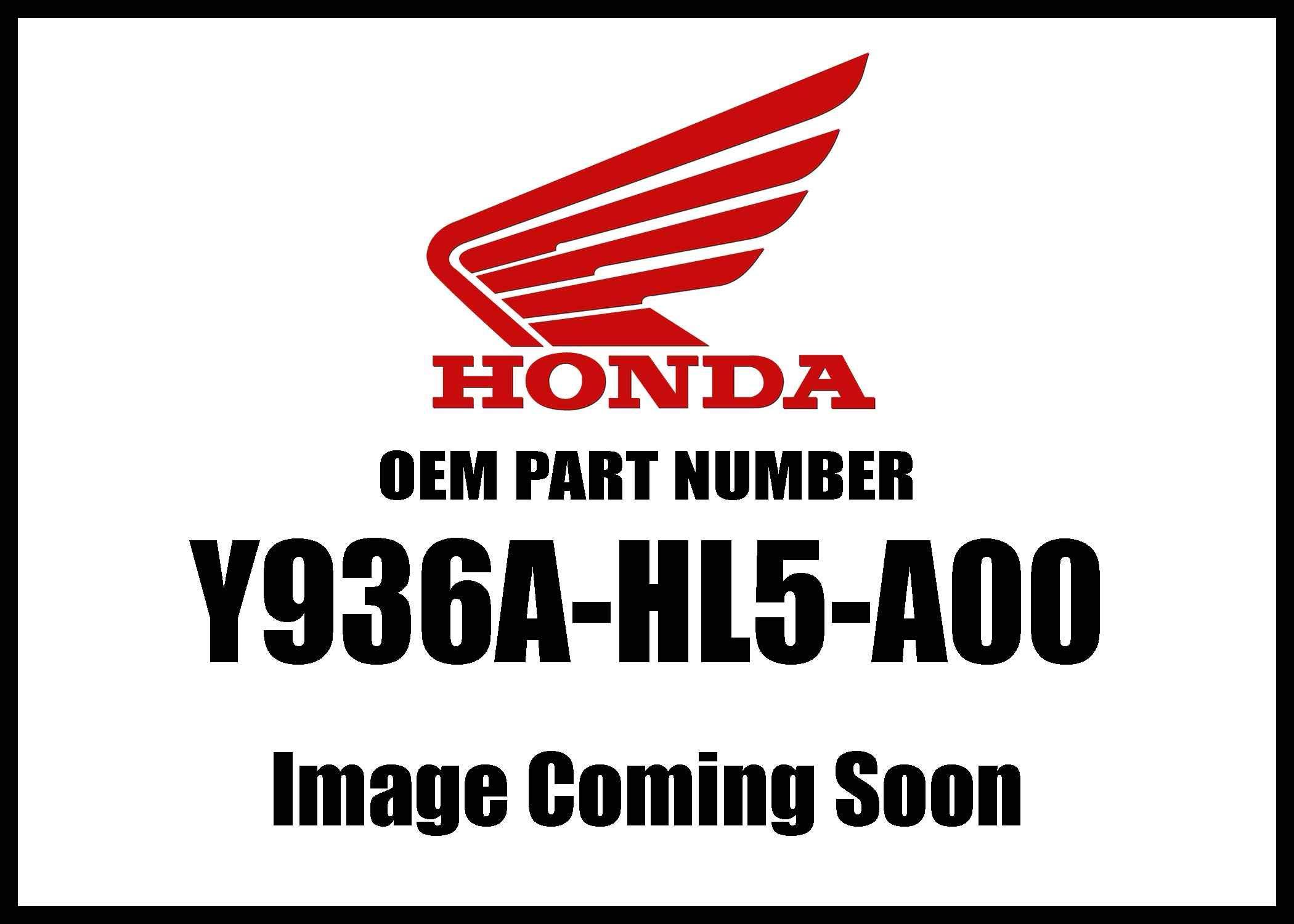 Honda Mc-Accy A Arm Guard Front Y936a-Hl5-A00 New Oem
