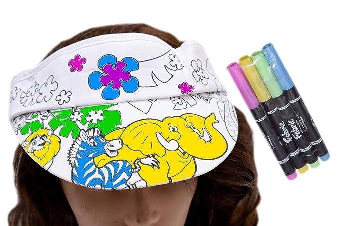 Celebrations - Colourable Cap with Color Pen - Elephant