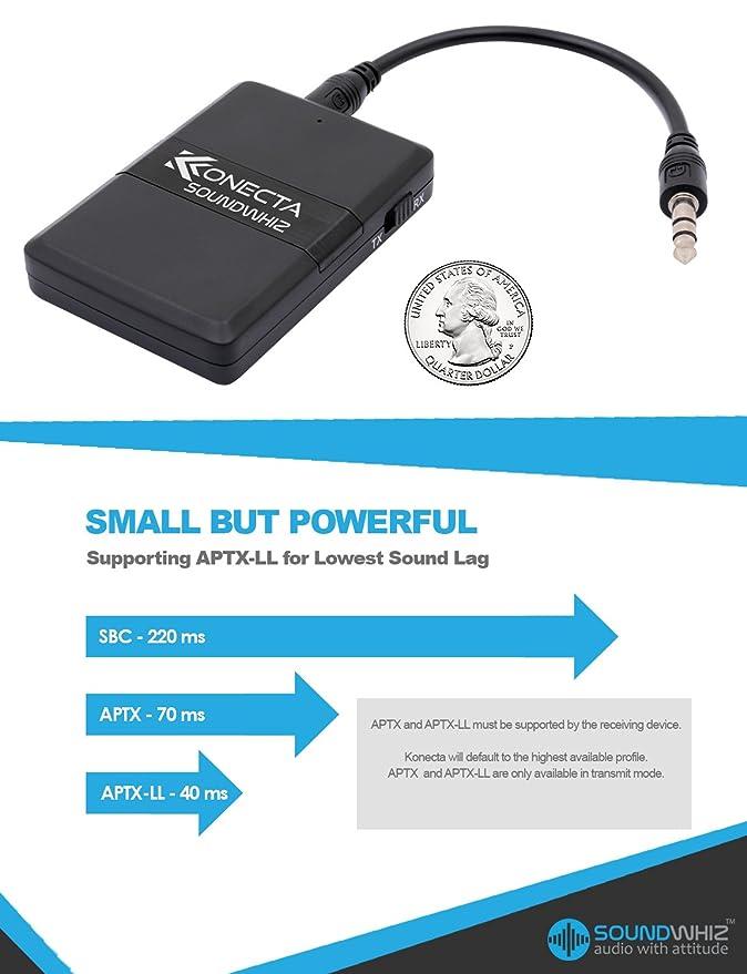 Amazon.com: Bluetooth Transmitter Receiver Adapter – Best Portable ...