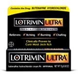 Lotrimin Ultra Antifungal Jock Itch Cream, Prescription Strength Butenafine Hydrochloride 1% Treatment, Clinically Proven to Cure Most Jock Itch, Cream, 0.42 Ounce,Pack of 1