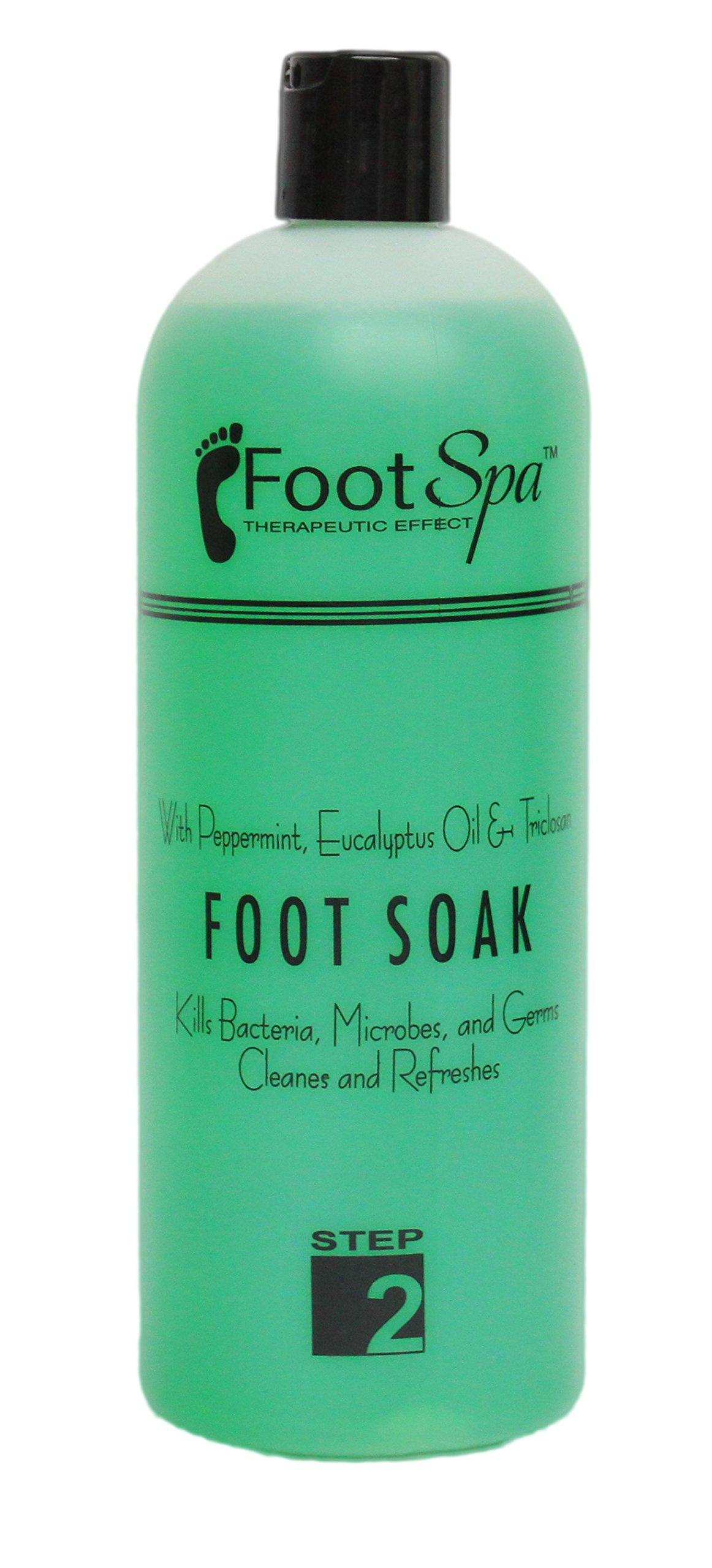 Foot Spa Foot Soak with Triclosan, 32-Ounce by FootSpa