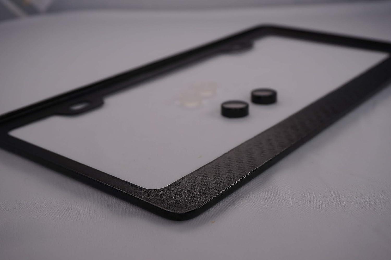 Mercedes Benz AMG Carbon Fiber License Plate Frame