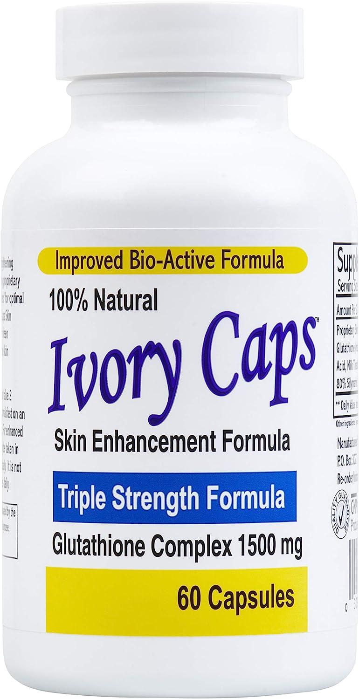 Ivory Caps Skin Whitening Pills pack of two