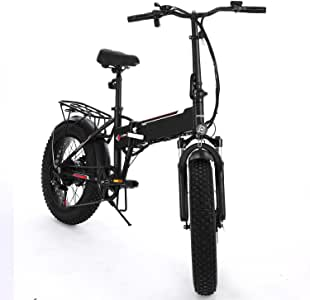 Amazon.com : Cosway 20inch Folding Electric Mountain Bike