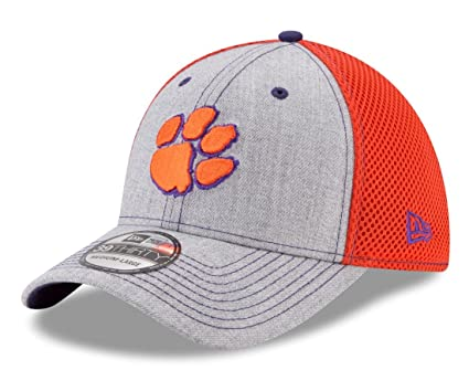 35811c38b netherlands clemson tigers new era ncaa heathered neo 39thirty cap ...