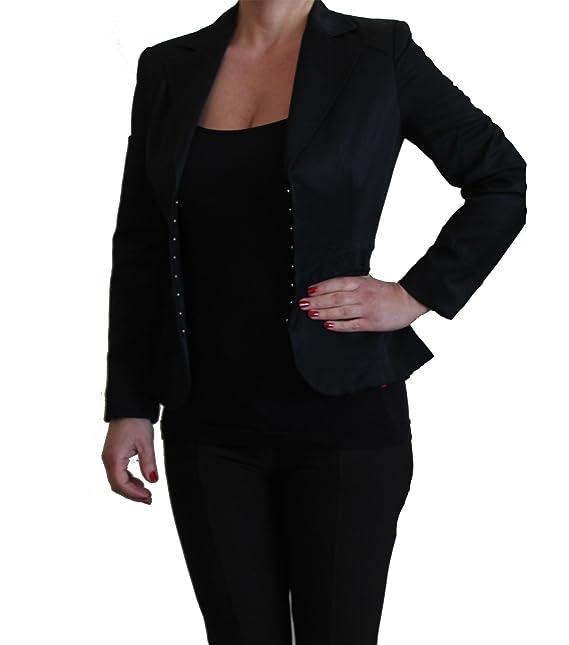 comprare on line 42770 69548 G.K.F.. [:it Giacca Donna Nera Elegante Blazer Moda Estate ...