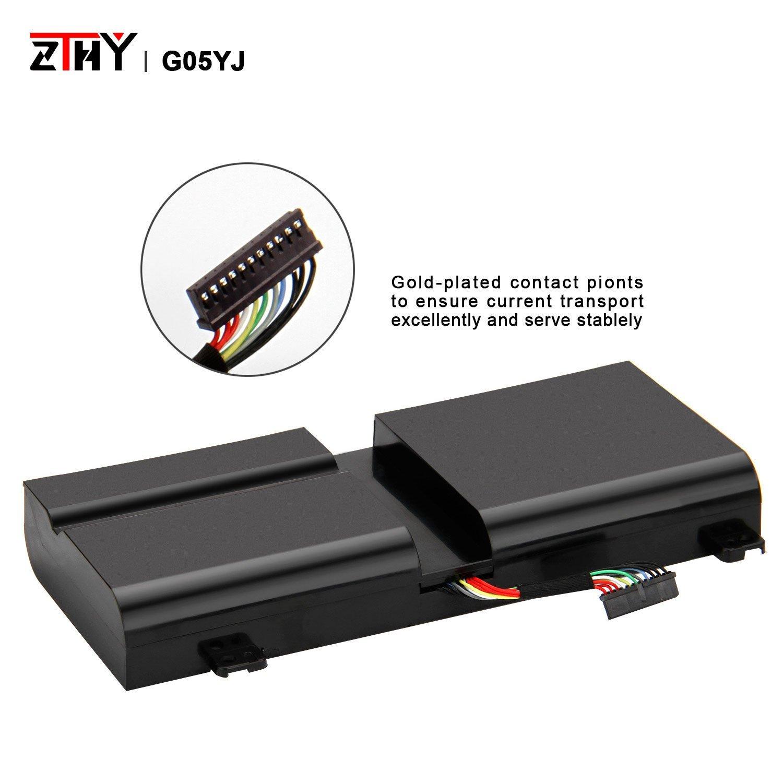 Amazon.com: zthy 11.1 V 69 WH Batería para portátil DELL ...