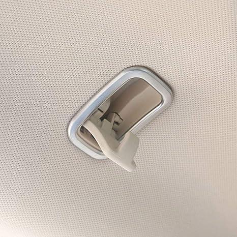 ABS Cromado Plástico Cubierta del gancho del techo del coche Accesorios del coche del ajuste para