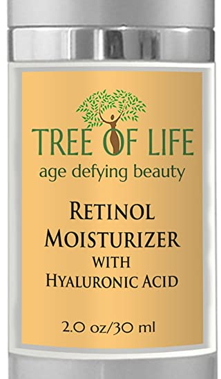 Great moisturizer with Hyaluronic Acid and Retinol!