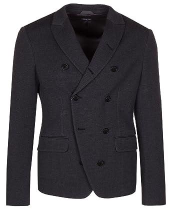 cb94e6bb GIORGIO ARMANI Men's Dark Gray 100% Wool Ginza Blazer Sport Coat ...