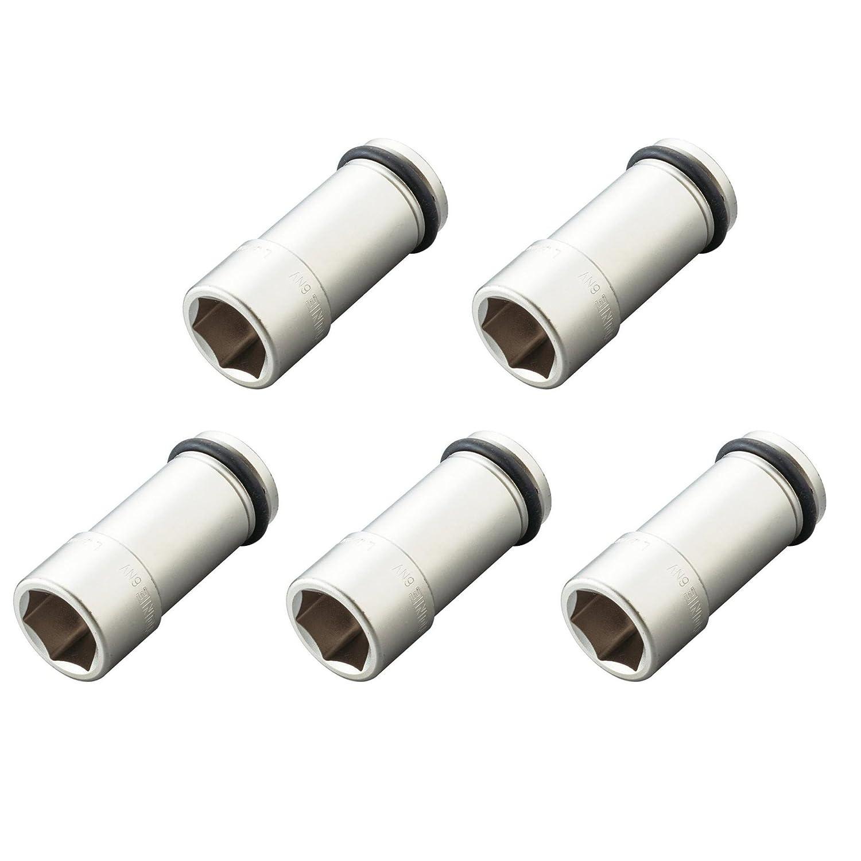 トネ(TONE) インパクト用ロングソケット 6NV-41L-5S 差込角19.0mm 二面幅41mm 5個入 二面幅:41mm 二面幅:41mm B01L73C7CW