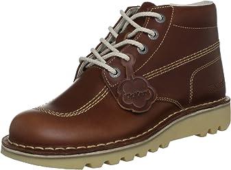 Kickers Mens Tan Kick Hi Leather Boots a9dffe2bf1b2