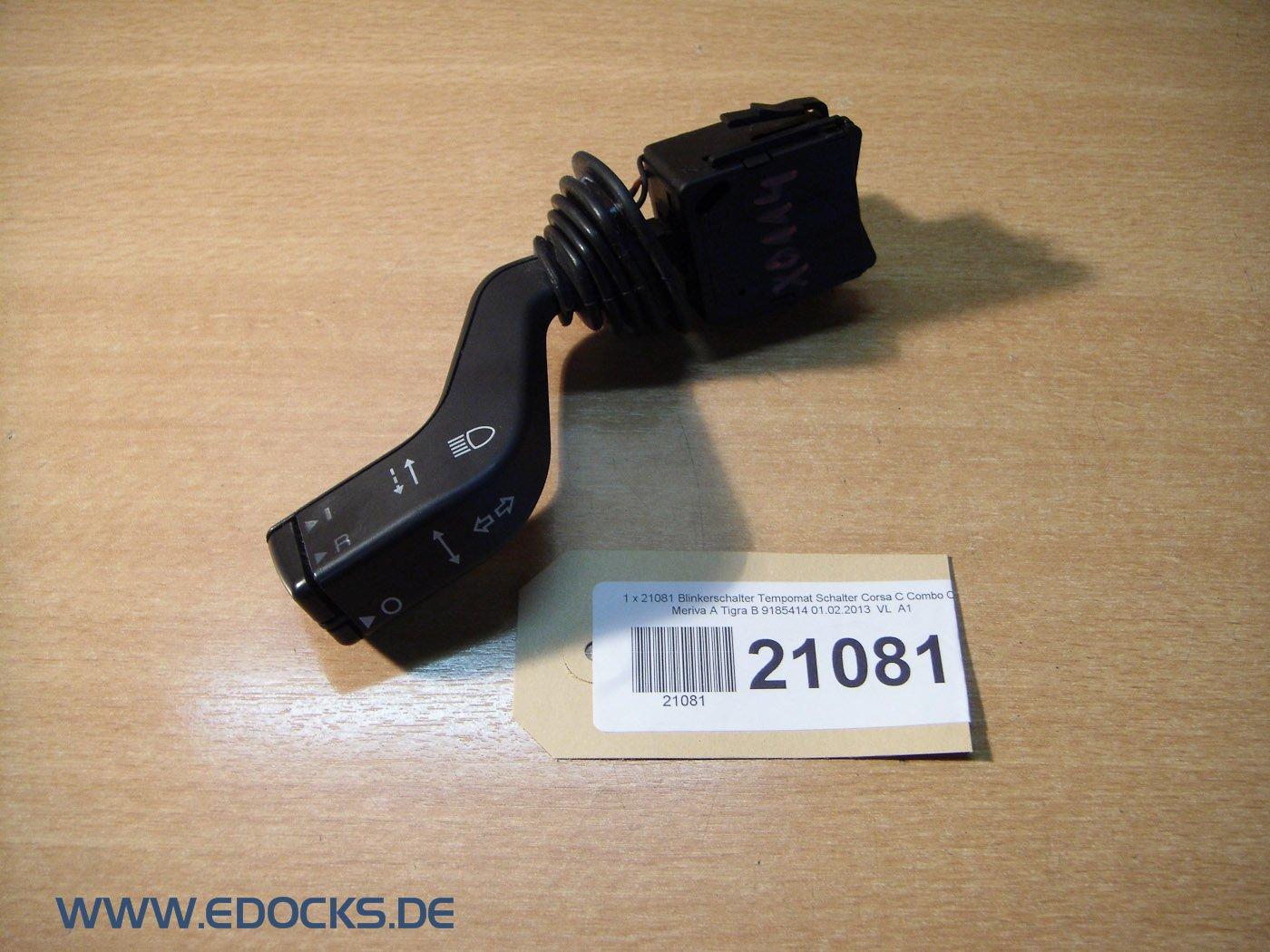 Blinkerschalter Blinker Schalter Opel Corsa Combo Meriva Tigra ohne Tempomat NEU
