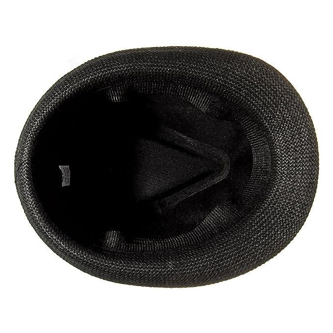 Cappello Di Paglia Fedora Con Borchie Blue Banana (Nero)  Amazon.it   Abbigliamento 859d444d0c67