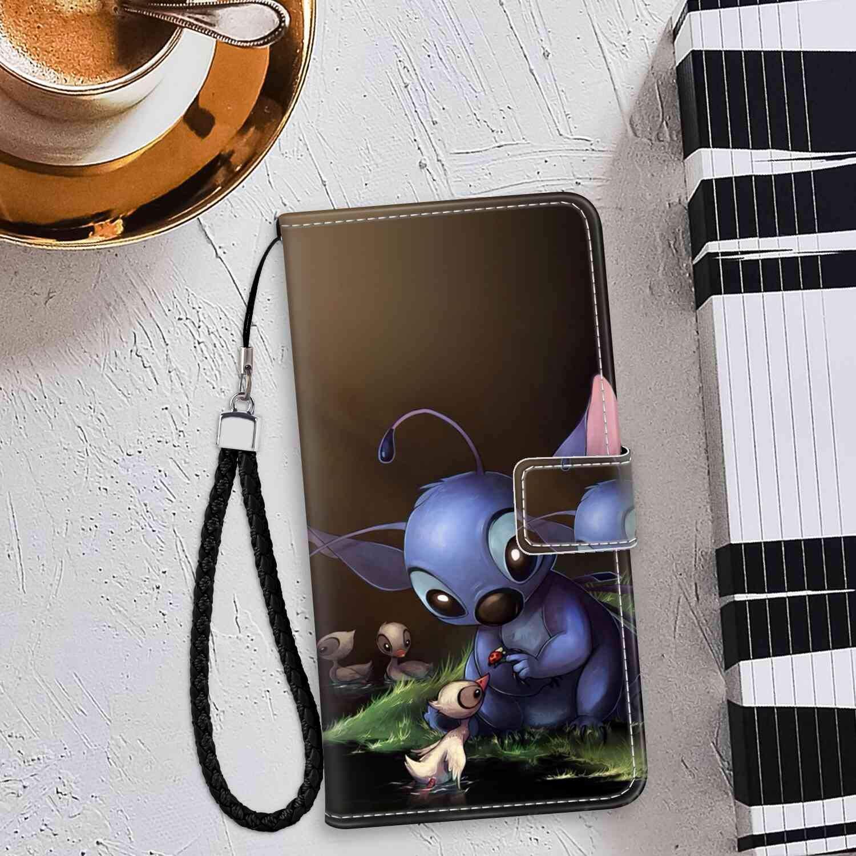 Amazon Com Stitch Cute Wallpaper Wallet Case Compatible