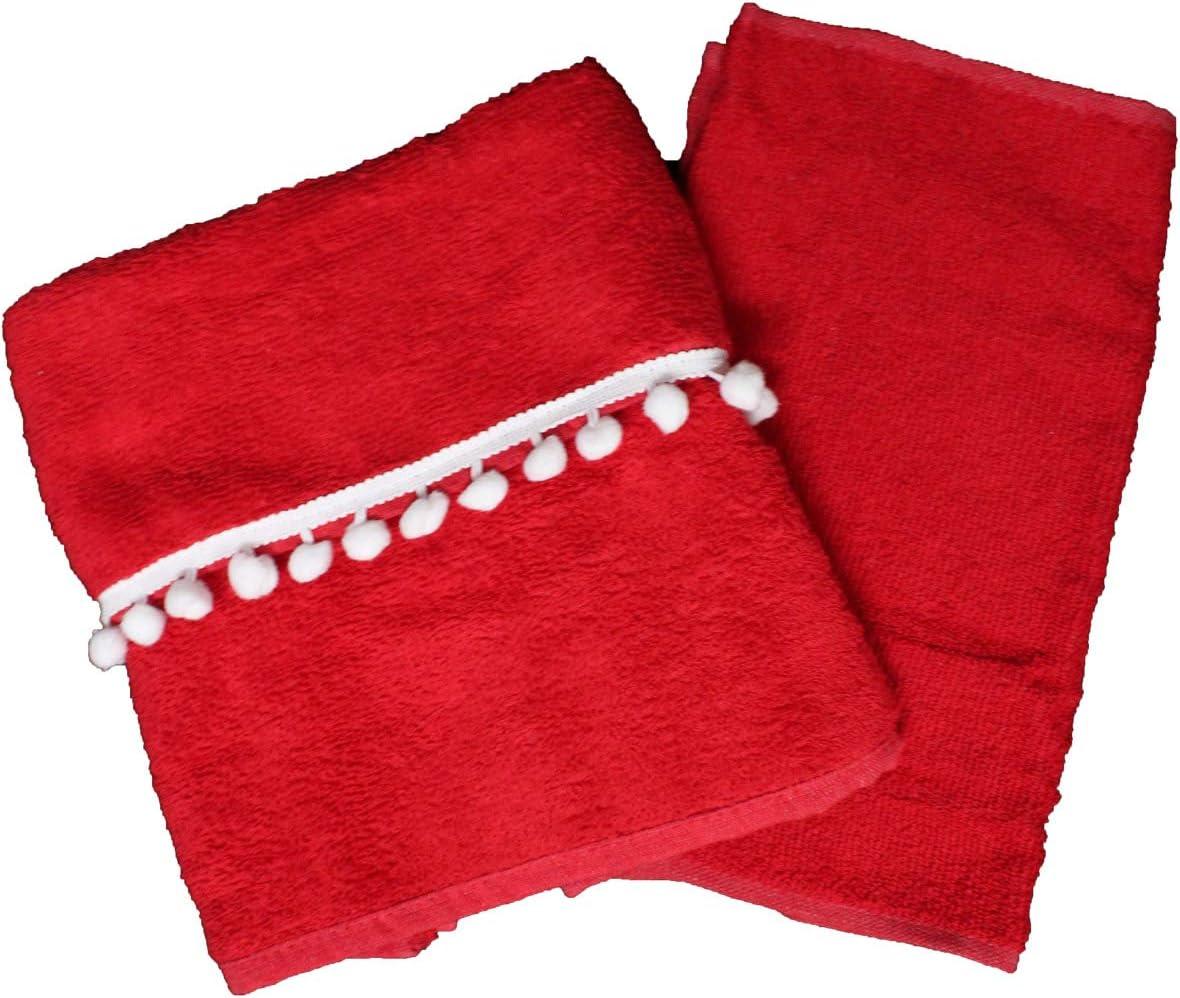 1 Viso Ospite Cotone-Variante 1 Russo Tessuti Set Asciugamani Spugna Natalizio Liabel 1