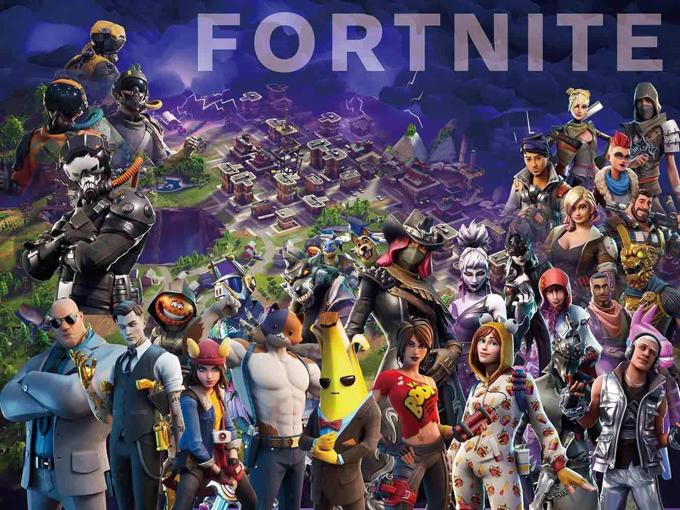 Battle Royale Backdrop Poster Video Game Party Supplies Happy Birthday Banner Gamer Backdrop Kids Wall Decoration